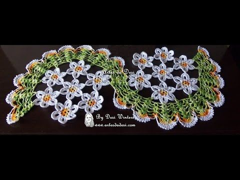 Passo a passo Centro de Mesa Espiral de Margaridas -  Criação e Execução: Desi Winters www.artesdadesi.com