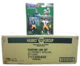 NFL Starting Line-Up Complete Set Case 1998