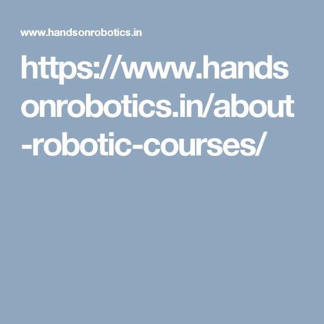 https://www.handsonrobotics.in/about-robotic-courses/