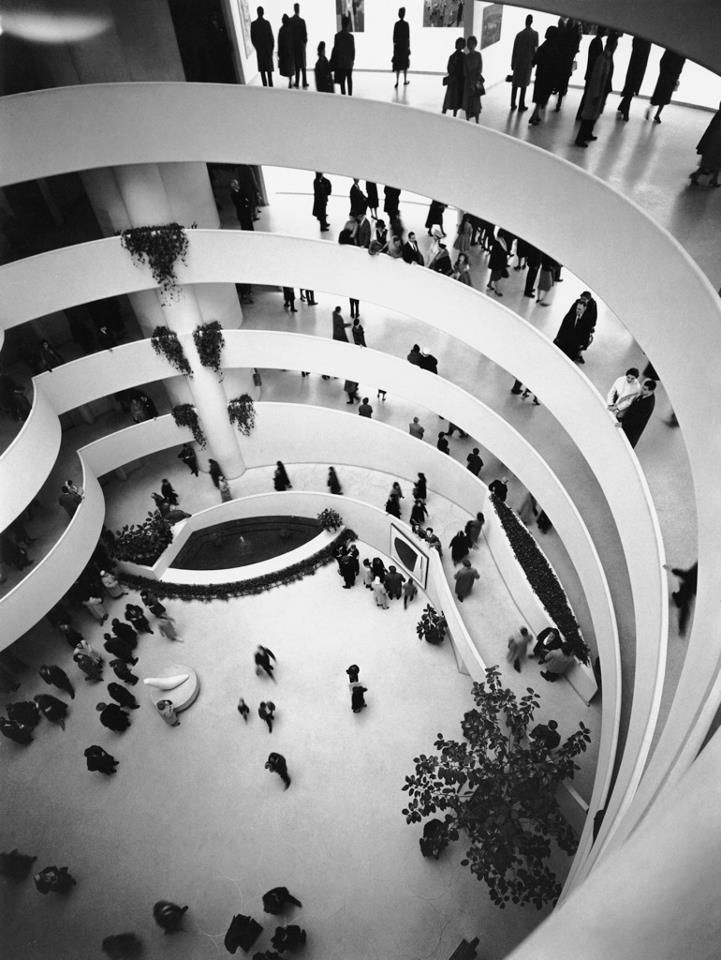 Museum: Open, 1959, New York Cities, Favorite Places, Art Museums, October 21, Frank Lloyd Wright, Solomon Guggenheim, Guggenheim Museums