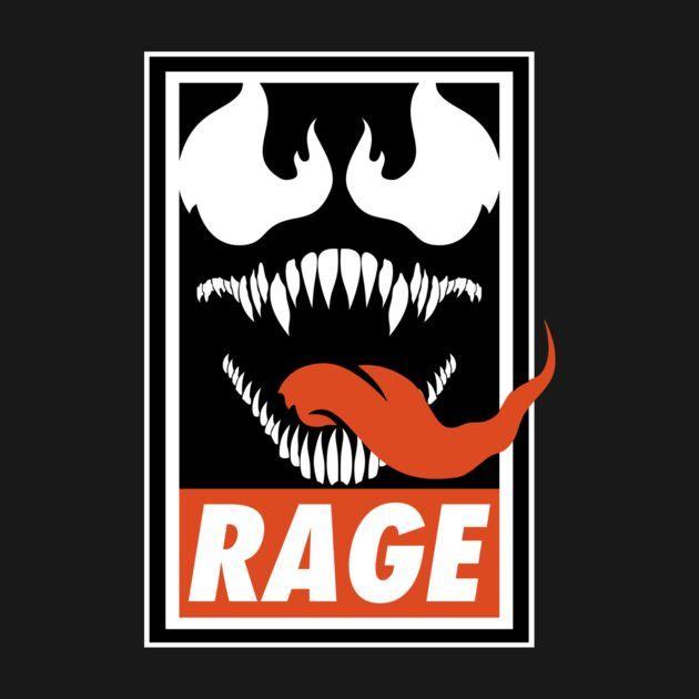 RAGE T-Shirt $12.99 Venom tee at Pop Up Tee!