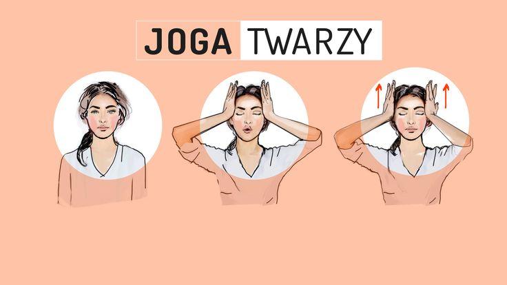 Czy ćwiczenia mogą być pomocne w walce ze starzeniem się skóry? Zwolennicy jogi twarzy twierdzą, że tak. Na grafikach prezentujemy popularne ćwiczenia, które warto wykonywać codziennie.