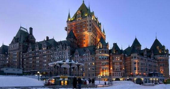 Win a Luxurious Getaway For 2 to Quebec City