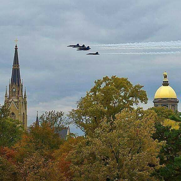 2015 Notre Dame-Navy Football Game Day