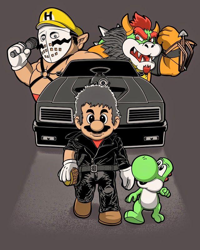 JCMaziu absent art.: Mad Mario.