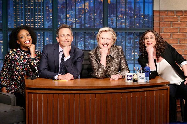 New top story from Time: Megan McCluskeyHillary Clinton Roasts Herself With Seth Meyers on the Anniversary of the Election http://time.com/5017280/hillary-clinton-seth-meyers-election-anniversary-jokes/| Visit http://www.omnipopmag.com/main For More!!! #Omnipop #Omnipopmag