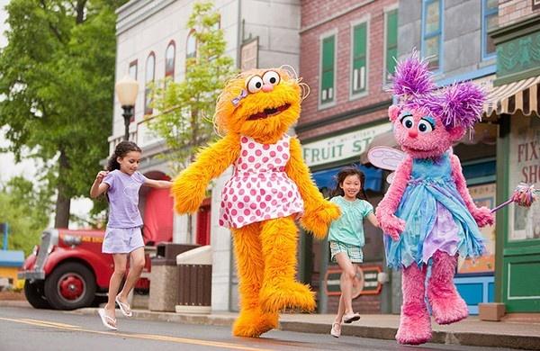 Sesame Place, el Parque temático de Barrio Sésamo en Filadelfia, Pensilvania