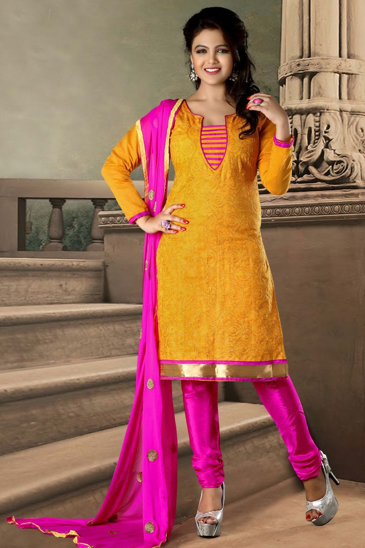 Orange Indian Salwar Kameez Online From Easysarees