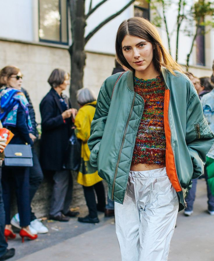Ursina Gysi at Paris Fashion Week SS 2016 // Phil Oh for Vogue
