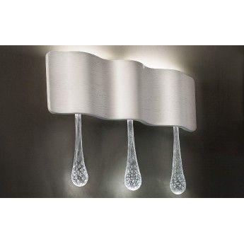 Ripple A3 - Masiero - kinkiet nowoczesny  abanet.pl #lampy_ekskluzywne #piękny_kinkiet #nowoczesne_oświetlenie  #oświetlenie_kraków #lampy_włoskie #oświetlenie #masiero
