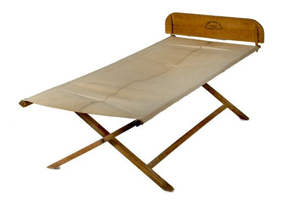 Goodwin & Son Folding Army Cot, 1862