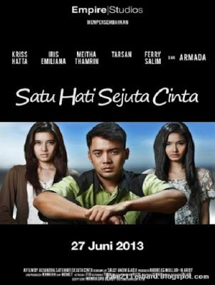 """Click """"Visit"""" button for watching streaming movie online at Layar Perak, watch movie title Satu Hati Sejuta Cinta (2013) for free forever"""