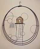 Wirework House Structure in hoop.