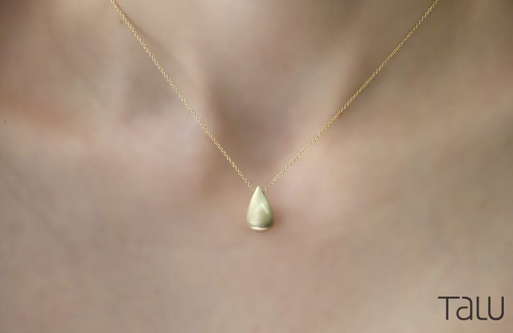 A personal favourite from my Etsy shop https://www.etsy.com/listing/506230438/gold-drop-necklace-gold-tear-necklace