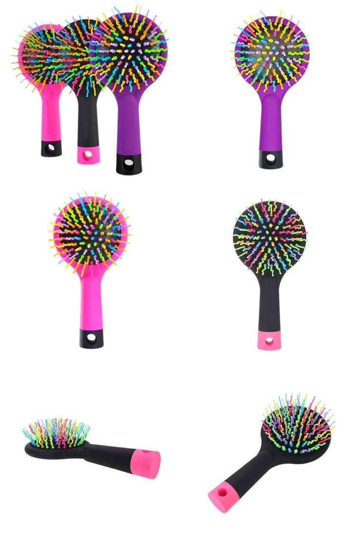 Undo straight perm -  Visit To Buy Rainbow Volume S Brush Hair Curl Magic Accessory Perm Wave Straight