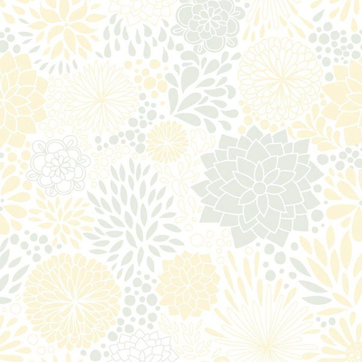Papel de Parede - Floral Mod 30 - Fran Adesivos