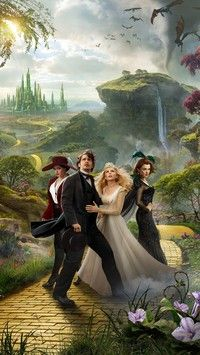 Czarnoksiężnik z krainy Oz i fantastyczna kraina