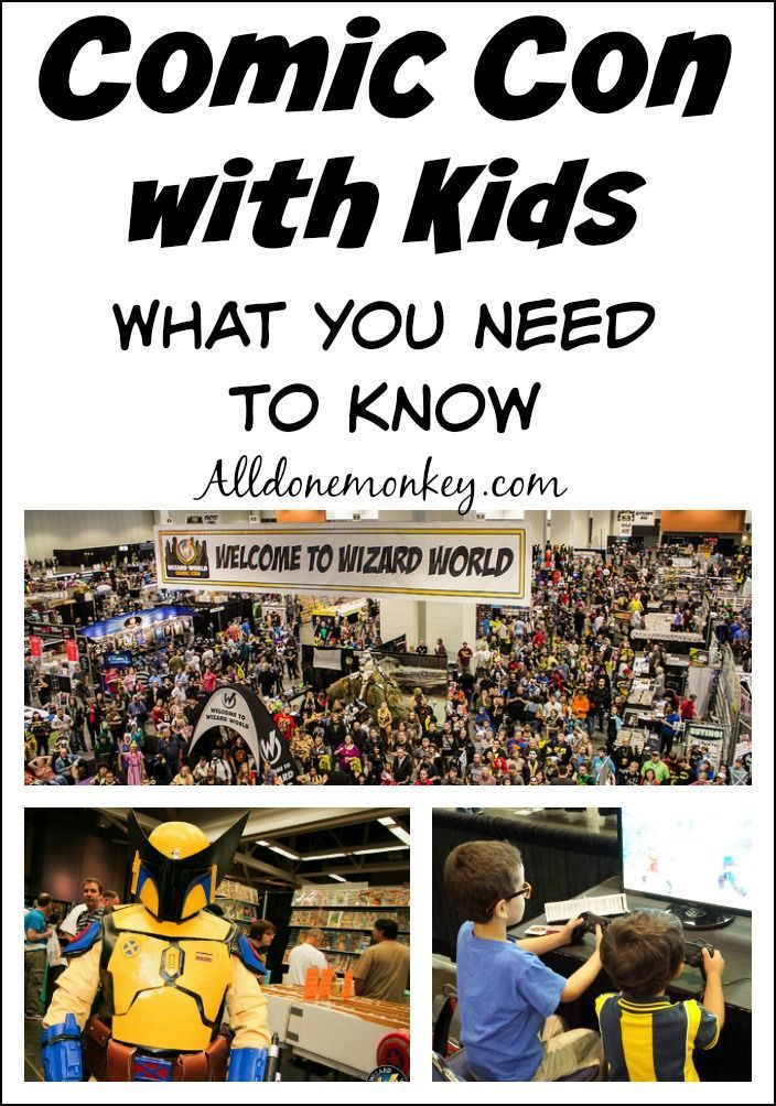Have you wondered about attending a Comic Con with kids? Here is everything you need to know to make it a fun experience for the whole family.