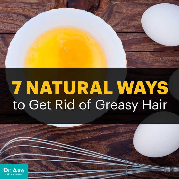 how to get rid of oily hair diy