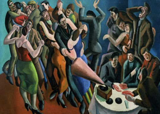 The Dance Club [The Jazz Party] by William Patrick Roberts [1895–1980