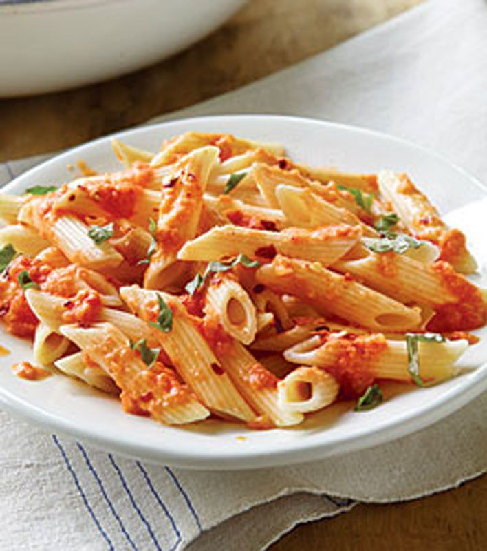 Pasta with Vodka Cream Sauce. Dir3m1p. Complete directions. 30 min