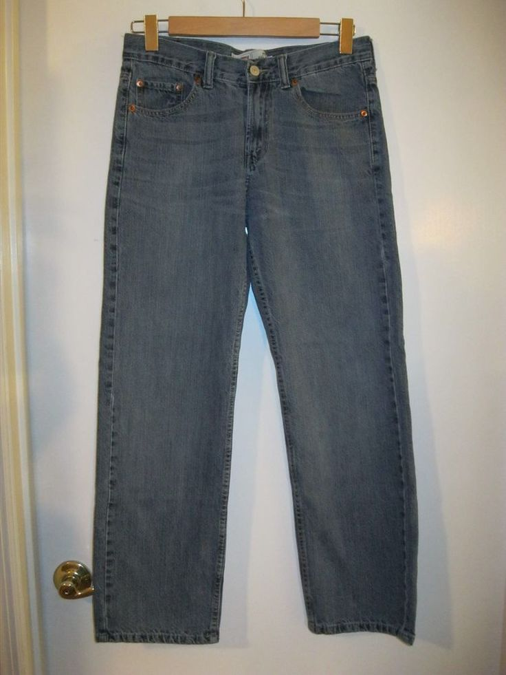 Womens Levis 550 Bootcut Jeans