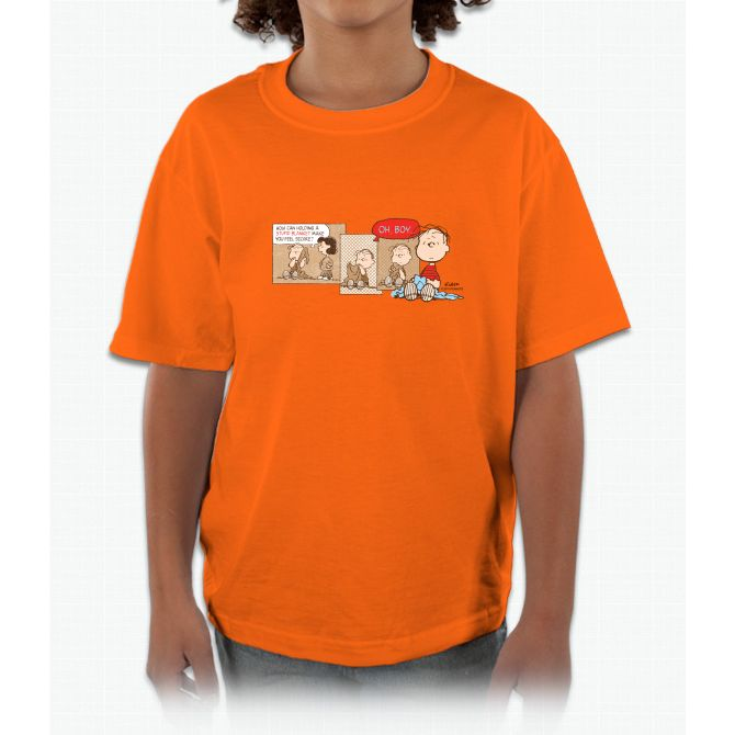 Linus Linus Peanuts Kids and Youth T-Shirt