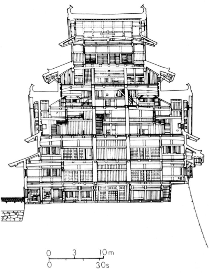 Related keywords suggestions for himeji castle floor plan for Final fortress blueprints