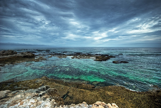 Ocean at De Hoop Nature Reserve, Western Cape