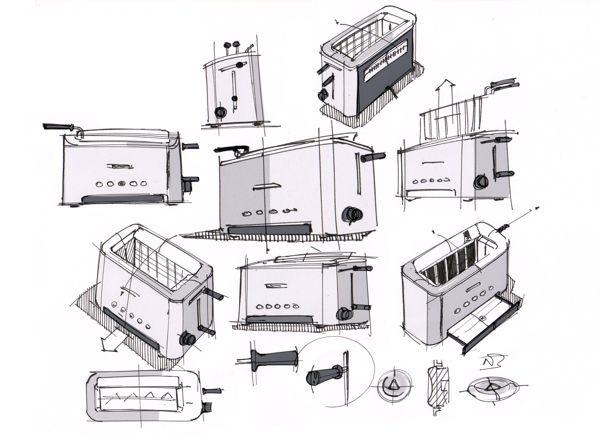 Adjustable Slot Toaster on Behance