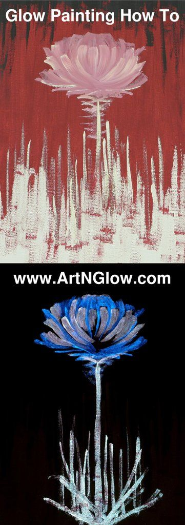 By now you may have seen some viral videos showing canvas paintings that transform at night with the magic of glow in the dark on YouTube or Facebook. These images are indeed magical, and in fact, anyone can enjoy creating their own glow in the dark works