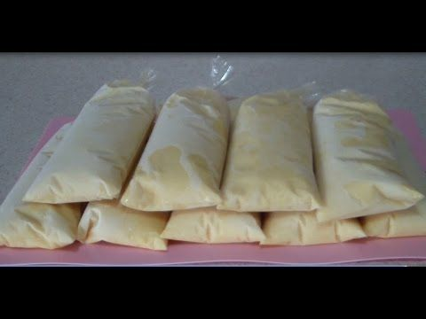 helados de rompope - YouTube