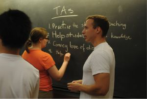 Teaching Assistants- the ultimate tutors.  via www.freshmansupport.com