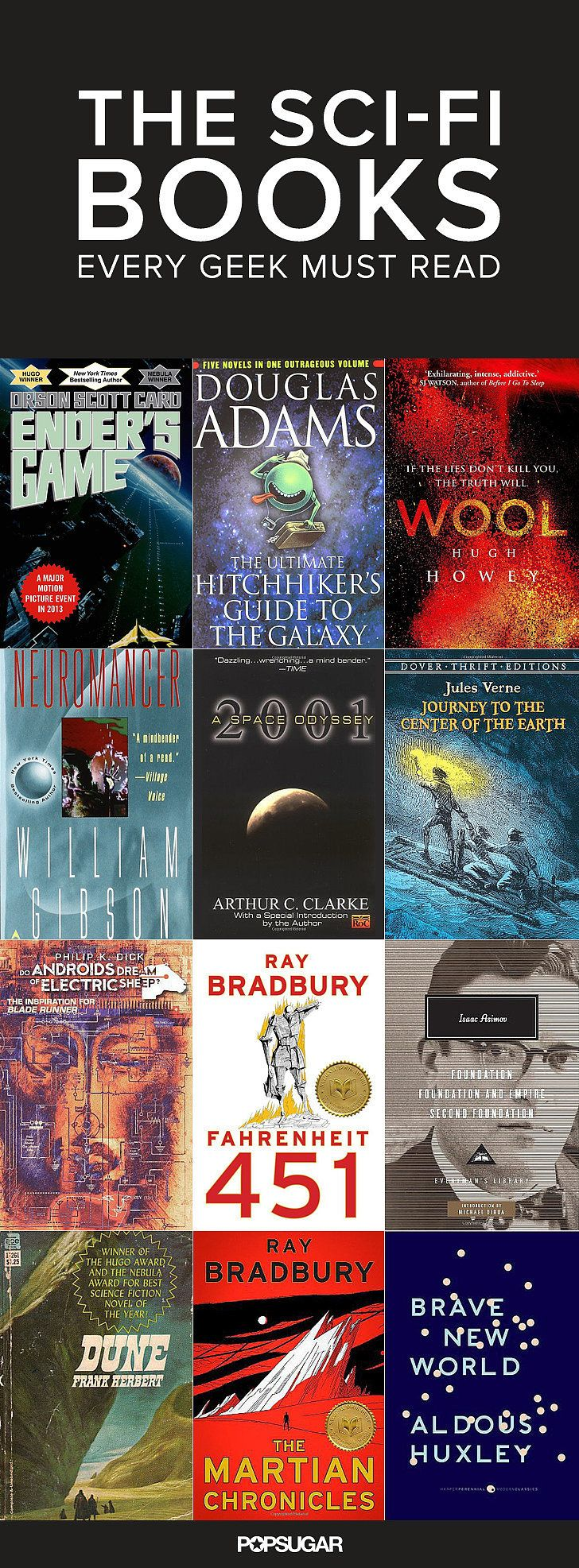 The Scifi Classics You Need To Read Before You Die