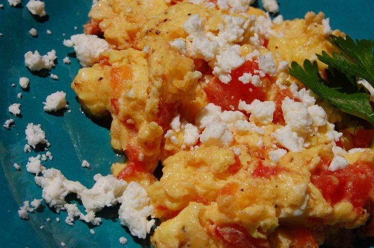 Fresh Tomato Egg Scramble