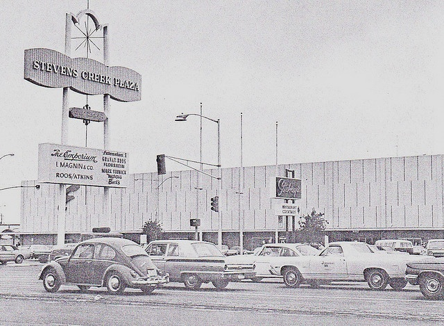 Stevens Creek Plaza - the west end of the now westfield mall - valley fair
