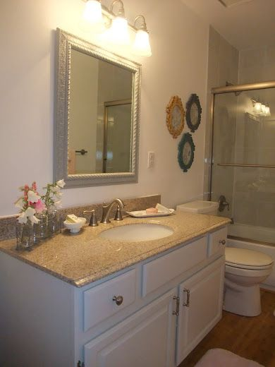 Just Another Hang Up: Bathroom Reveal Continued . . .