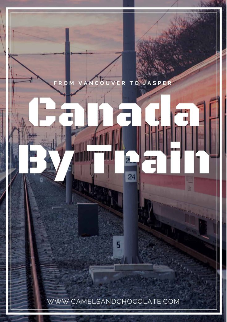 On the VIA Rail: A Train Ride Across Canada's Rocky Mountains. Touring Western Canada by train was one of the parts of our recent mother-daughter winter trip to Alberta I most anticipated. We spent 22 hours on the train from Vancouver through to Jasper in the Canadian Rockies. Click through to read about our experience traveling Western Canada by train.   Camels and Chocolate #canada #viarail #canadabydesign #sponsored #trainjourney #vancouver #jasper