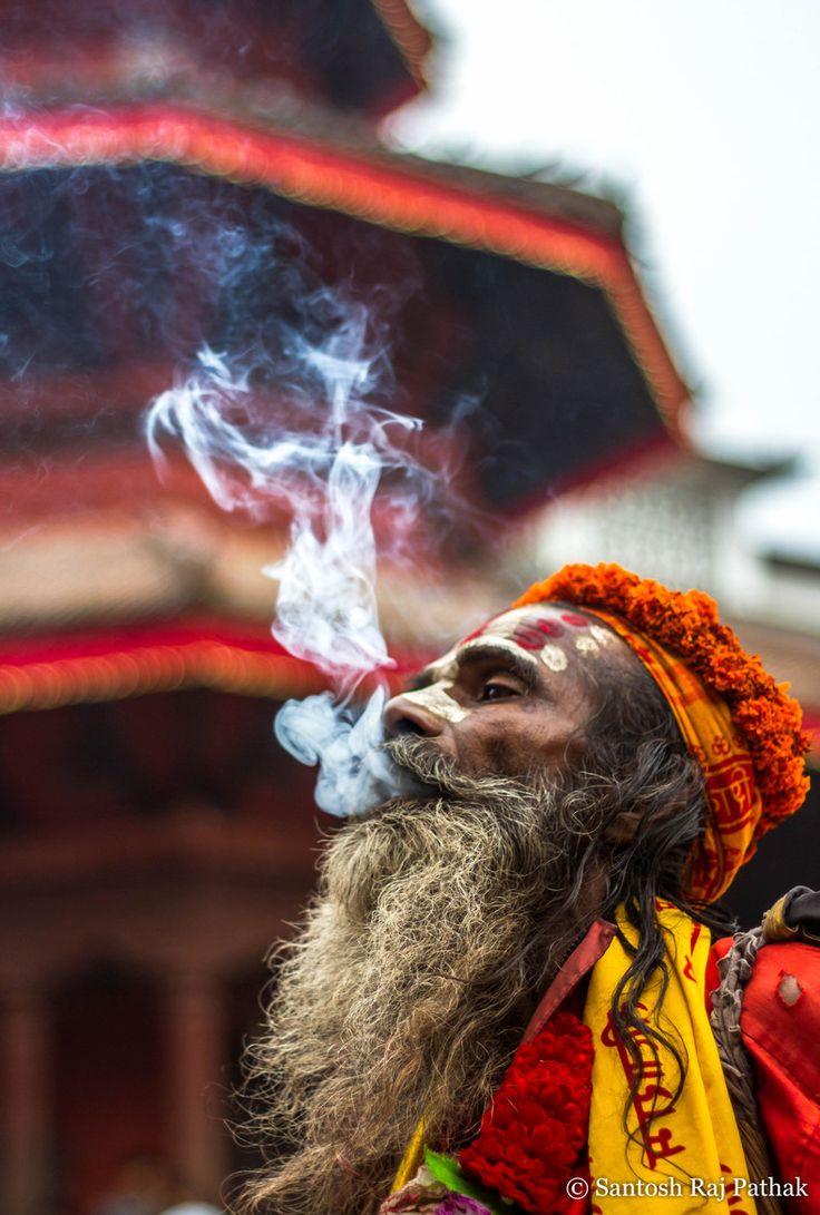 Sadhu in Kathmandu, Nepal