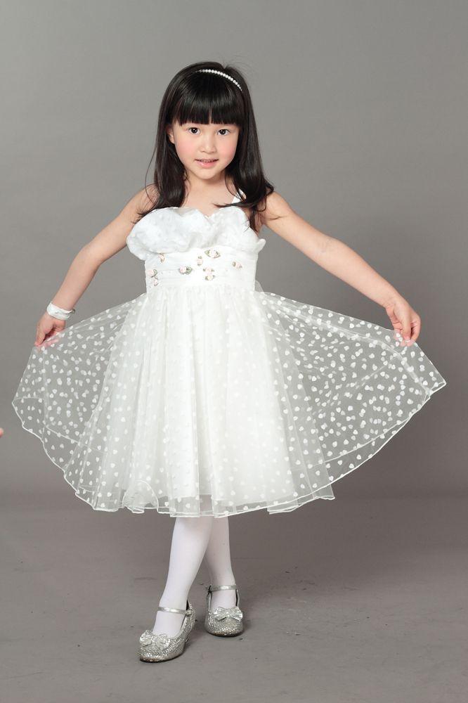 Glitter Friends Heart Flock dress