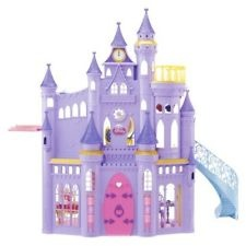 NEW DISNEY Ultimate PRINCESS Barbie CASTLE 50 PIECES 3 STORY MUSICAL DOLL House