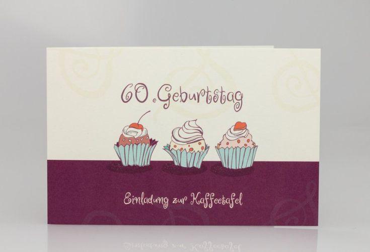 Einladungskarten 60. Geburtstag Ebay