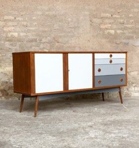 1000 id es sur le th me stands vintage tv sur pinterest for Meuble 1970
