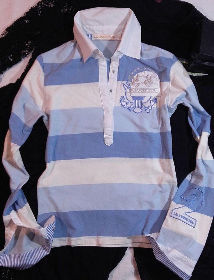 Autentic womens Polo shirt La Martina with holograph Size XS #LaMartina #PoloShirt