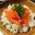 めんつゆサーモン漬け丼 by クックV2TUVN☆ http://cookpad.com/recipe/3036536#share_other