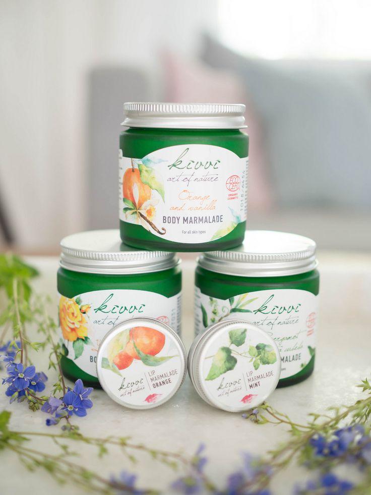 Kivvi Cosmetics Body Marmalades and Lip Marmalades