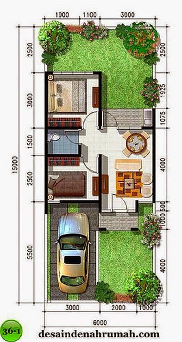233 best desain rumah minimalis images on pinterest for Decor kamar tidur