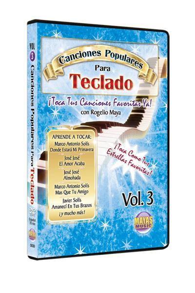Canciones Populares para Teclado, Vol. 3