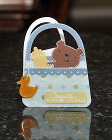 WaterDots: Baby Shower Card