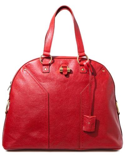 Yves Saint Laurent \u0026#39;Muse\u0026#39; Oversized Classic Leather Bag | BAG ...
